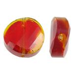 Imitim Swarovski Crystal Beads, Kristal, Kthesë, asnjë, faceted & imitim kristal Swarovski, Zymbyl, 14x14x6.50mm, : 1mm, 50PC/Qese,  Qese