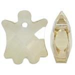 Imitim Swarovski Crystal Pendants, Kristal, Shape Tjera, asnjë, faceted & imitim kristal Swarovski, Lt Colorado topaz, 15.50x18x7mm, : 1.5mm, 50PC/Qese,  Qese