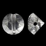 Imitim Swarovski Crystal Beads, Kristal, Nuggets, asnjë, imitim kristal Swarovski, Kristal, 6x5mm, : 1.5mm, 50PC/Qese,  Qese