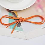 Kurrizit Lesh, portokall, 3mm, : 1m, 100Fillesat/Shumë,  Shumë