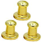 Alloy zink Claw Rivet, Shape Tjera, ngjyrë ari praruar, asnjë, asnjë, , nikel çojë \x26amp; kadmium falas, 8mm, 100Sets/Qese,  Qese