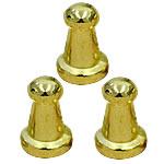 Alloy zink Claw Rivet, Shape Tjera, ngjyrë ari praruar, asnjë, asnjë, , nikel çojë \x26amp; kadmium falas, 10mm, 100Sets/Qese,  Qese