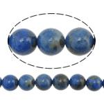 Beads lapis lazuli, Natyrore lapis lazuli, Round, asnjë, asnjë, 6mm, : 1mm, :16Inç, 5Fillesat/Shumë, 67 Pcs/Strand,  Shumë