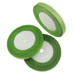 Ribbon Sparkle, asnjë, asnjë, e gjelbër, 1cm, :1250Oborr, 50PC/Shumë,  Shumë