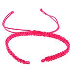 Byzylyk Moda Cord, Cord najlon, rozë, 5mm, :6-12Inç, 50Fillesat/Shumë,  Shumë
