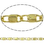 Tunxh Zinxhiri Valentino, Shape Tjera, ngjyrë ari praruar, asnjë, asnjë, , nikel çojë \x26amp; kadmium falas, 1.80x4.70x0.40mm, : 100m,  PC
