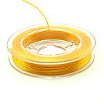 Thread Crystal, elastik, asnjë, të verdhë të artë, 0.30mm, :10m, 50PC/Shumë,  Shumë