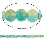 Glass Beads kërcitje, Xham, Round, asnjë, dy-ton, asnjë, 5mm, : 1mm, : 31.5Inç, 10Fillesat/Qese, approx228Pcs/Strand,  Qese
