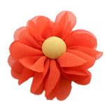 Lule, asnjë, asnjë, portokalli thellë kuqalashe, 60x60mm, 60PC/Shumë,  Shumë