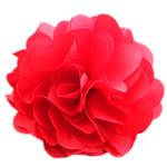 Leckë, Lule, asnjë, asnjë, i kuq, 86x86mm, 50PC/Shumë,  Shumë