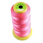 Thread najlon, Najloni, Shape Tjera, pa elastik, asnjë, kuqe të ndritshme rozë, 0.25mm, : 700m, 10PC/Shumë,  Shumë