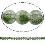 Glass Beads kërcitje, Xham, Round, asnjë, dy-ton, asnjë, 5mm, : 1mm, : 31.5Inç, 10Fillesat/Qese, approx202Pcs/Strand,  Qese