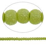 Stardust Glass Beads, Xham, Round, asnjë, mollë jeshile, 5mm, : 1mm, : 31.5Inç, 10Fillesat/Qese, approx227Pcs/Strand,  Qese