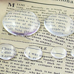 Cabochons Glass, Xham, Kube, asnjë, i tejdukshëm, qartë, 30x30x7mm, 200PC/Qese,  Qese