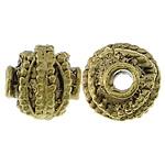 Beads bizhuteri Alloy zink, Fanar, Ngjyra antike ari praruar, asnjë, asnjë, , nikel çojë \x26amp; kadmium falas, 10mm, : 2mm, 200PC/Qese,  Qese