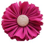Saten, with Plastik, Lule, asnjë, asnjë, kuqe purplish, 70x70mm, 30PC/Shumë,  Shumë