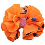 Leckë, with Saten Ribbon, Bowknot, asnjë, asnjë, portokall, 60x50mm, 80PC/Shumë,  Shumë