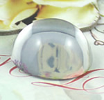 Cabochons Glass, Xham, Kube, asnjë, i tejdukshëm, qartë, 20x20x9mm, 300PC/Qese,  Qese