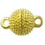 Alloy zink kapje magnetik, Round, ngjyrë ari praruar, asnjë & vetme-fillesë, asnjë, , nikel çojë \x26amp; kadmium falas, 13x9mm, : 2mm, 100PC/Shumë,  Shumë