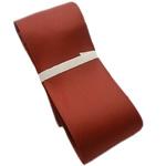 Saten Ribbon, asnjë, asnjë, Ngjyra e kuqe kafe, 38mm, 100m/Shumë,  Shumë
