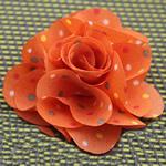 Leckë, Lule, asnjë, asnjë, portokall, 45x45mm, 80PC/Shumë,  Shumë