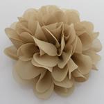 Silk pe, Lule, asnjë, asnjë, thellë të verdhë, 90x90mm, 40PC/Shumë,  Shumë
