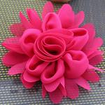 Lule, asnjë, asnjë, kuqe të ndritshme rozë, 80x80mm, 40PC/Shumë,  Shumë