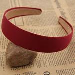 Hair Bands, Leckë, with Plastik, Shape Tjera, asnjë, asnjë, i kuq, 120x30mm, 30PC/Shumë,  Shumë