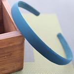 Hair Bands, Leckë, with Plastik, Shape Tjera, asnjë, asnjë, blu, 120x15mm, 30PC/Shumë,  Shumë