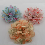 with Silk pe, Lule, asnjë, asnjë, ngjyra të përziera, 95x95mm, 50PC/Shumë,  Shumë