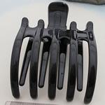 Flokët Clips Claw, Plastik, Shape Tjera, asnjë, asnjë, e zezë, 85x65mm, 50PC/Shumë,  Shumë