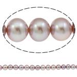 Round Beads kulturuar Pearl ujërave të ëmbla, Pearl kulturuar ujërave të ëmbla, natyror, asnjë, vjollcë, AAA, 11-12mm, : 1mm, :15.7Inç,  15.7Inç,