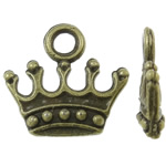 Pendants Zink Alloy Tool, Alloy zink, Kurorë, Ngjyra antike bronz i praruar, asnjë, asnjë, , nikel çojë \x26amp; kadmium falas, 14x13x3mm, : 2.5mm, 1250PC/KG,  KG