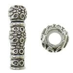 Beads Zink Alloy Tube, Alloy zink, Ngjyra antike argjendi praruar, asnjë, asnjë, , nikel çojë \x26amp; kadmium falas, 7x22.5mm, : 3.5mm, 660PC/KG,  KG