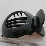 Flokët Clips Claw, ABS plastike, Shape Tjera, asnjë, asnjë, e zezë, 45x35mm, 60PC/Shumë,  Shumë