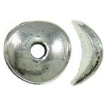 Zink Legierung Perlen Schmuck, Zinklegierung, antik silberfarben plattiert, frei von Nickel, Blei & Kadmium, 10x3mm, Bohrung:ca. 2mm, ca. 1250PCs/kg, verkauft von kg