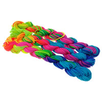 Nylon Cord, more sizes for choice, multi-colored, 10PCs/Bag, Sold By Bag