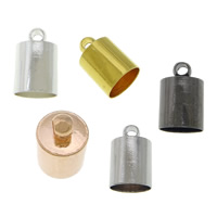 Brass End Cap, plated, Customized, more colors for choice, cadmium free, Sold By PC