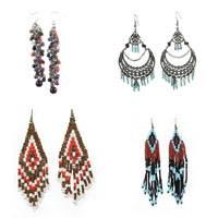 Fashion Create Glass Seed Earring