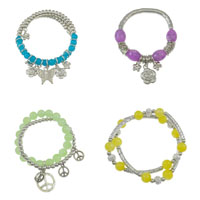 CCB Glass Beads Bracelets
