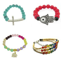 Glass Jewelry Beads Bracelets