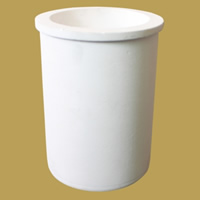 Quarz Schmelztiegel, Zylinder, weiß, 98x130mm,79mm, 2PCs/Menge, verkauft von Menge