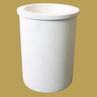 Quarz Schmelztiegel, Zylinder, weiß, 121x152mm,95mm, 2PCs/Menge, verkauft von Menge