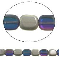 Klasse AA Kristallperlen, Kristall, Pendular Lochrose, bunte Farbe plattiert, verschiedene Größen vorhanden & facettierte & AA grade crystal, violett, Bohrung:ca. 1mm, ca. 50PCs/Strang, verkauft per ca. 15.5 ZollInch Strang