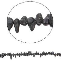 Kultivierte kernhaltige Süßwasserperlen, kultivierte Süßwasser kernhaltige Perlen, Klumpen, grau, 12-21mm, Bohrung:ca. 0.8mm, verkauft per ca. 15 ZollInch Strang