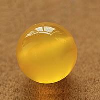 Natürliche gelbe Achat Perlen, Gelber Achat, rund, verschiedene Größen vorhanden, Grade AAAAA, verkauft von Menge