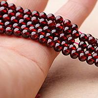 Natürlicher Granat Perlen, rund, Januar Birthstone & verschiedene Größen vorhanden, Grade AAAAA, verkauft von Menge