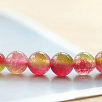 Turmalin Perle, rund, Oktober Birthstone & verschiedene Größen vorhanden, verkauft von Menge