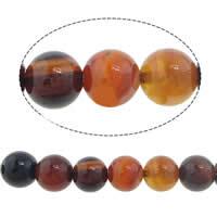 Natürliche traumhafte Achat Perlen, Traumhafter Achat, rund, 12mm, Bohrung:ca. 1.2-1.5mm, Länge:ca. 15.5 ZollInch, 10SträngeStrang/Menge, ca. 33PCs/Strang, verkauft von Menge