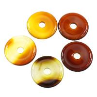 Natürlich rote Achat Perlen, Roter Achat, flache Runde, 30x5mm, Bohrung:ca. 6mm, 10PCs/Menge, verkauft von Menge